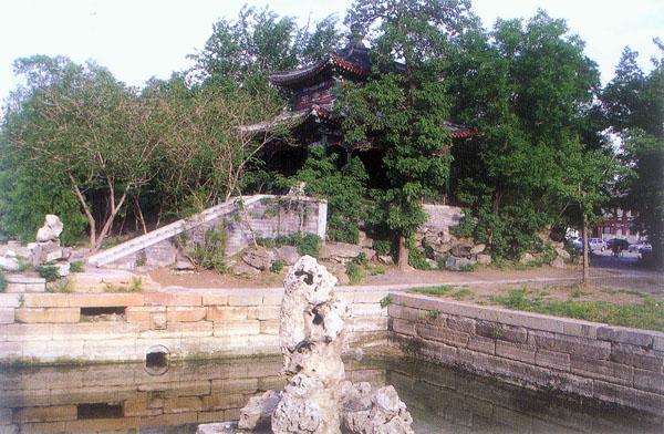 校景亭,北大校景亭,北京大学校景亭,北大校园风景图片,北大美景